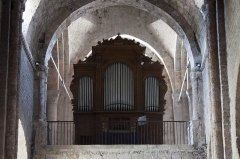 Eglise Saint-Pierre -  Cylinders mecanic organ, by Nicolas-Antoine Lété in 1836, transformed by Frédéric Junck & Thiébaut Maucourt in 1862, restored by Michel Giroud in 1985..