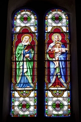 Eglise Saint-Pierre -  Saint Anne and the Virgin Saint Mary.