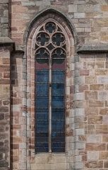 Cathédrale Notre-Dame - English: Window of the south facade of the Cathedral of Our Lady of the Assumption of Rodez, Aveyron, France