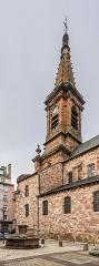 Eglise Saint-Amans - English: Bell tower of the Saint Amans Church in Rodez, Aveyron, France