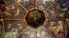 Chapelle des Pénitents Noirs - Français:   Villefranche-de-Rouergue (Occitanie, France). Le plafond de la chapelle des Pénitents Noirs.
