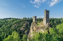 Château Inférieur - English: Castle of Peyrusse-le-Roc, Aveyron, France
