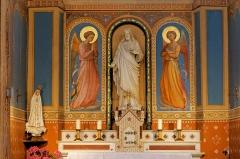Eglise Notre-Dame-de-l'Assomption -  Angels of niche-altarpiece of the Sacred Heart Chapel