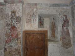 Eglise de Benque-Dessus - Français:   Fresques de l\'église Saint-Blaise de Benque-Dessus, Haute-Garonne, France.