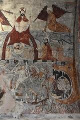 Eglise Sainte-Anne - Nederlands: Église Sainte-Anne de Cazeaux-de-Larboust fresco