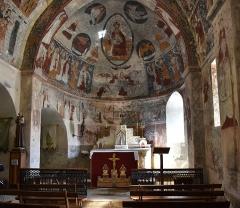 Eglise Sainte-Anne - Nederlands: Église Sainte-Anne de Cazeaux-de-Larboust