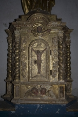 Eglise Sainte-Anne - English:  Tabernacle, left view.