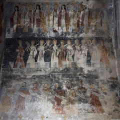 Eglise Sainte-Anne - English:  The New Jerusalem - The Purgatory.
