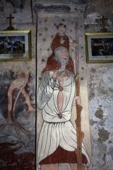 Eglise Sainte-Anne - English:  Saint Christopher.