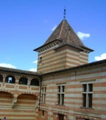 Château de Laréole - English: Castel of Laréole (Haute-Garonne, France)