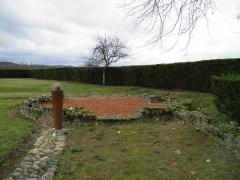 Ruines de la villa gallo-romaine -  Gallo-Roman villa of Montmaurin, France
