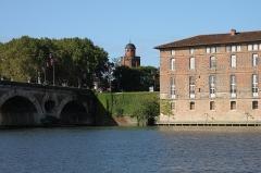 Château d'eau et station de pompage - Français:   Le château d\'eau, devenu galerie photographique, Toulouse, France