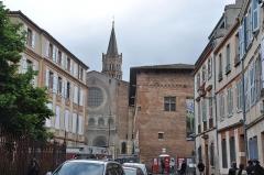 Ancien collège Saint-Raymond -  Basilique Saint-Sernin de Toulouse, Toulouse, Midi-Pyrénées, France