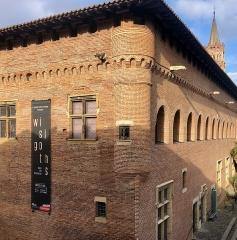 Ancien collège Saint-Raymond -  Vue extérieure du musée Saint-Raymond à Toulouse