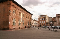 Ancien collège Saint-Raymond -  Musée Saint-Raymond de Toulouse, en mai 2007 (Haute-Garonne, France)