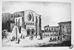 Ancien collège Saint-Raymond -  painter
