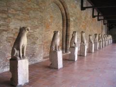 Ruines de l'église des Cordeliers -  Musée des Augustins, Toulouse, France
