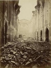 Ruines de l'église des Cordeliers -