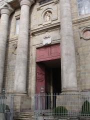 Eglise Notre-Dame-de-la-Daurade - Français:   Entrée de l\'église Notre-Dame de la Daurade à Toulouse.