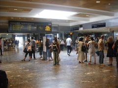 Gare de Toulouse-Matabiau - English: The western concourse of Toulouse's Matabiau station