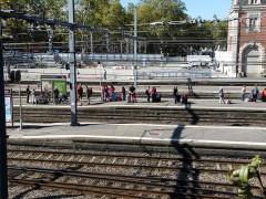 Gare de Toulouse-Matabiau - English: Toulouse Matabiau station seen from the east side