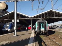 Gare de Toulouse-Matabiau - Nederlands: Intercity trein naar Bordeaux