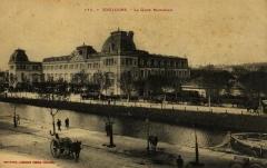 Gare de Toulouse-Matabiau - France, Haute-Garonne, Toulouse, gare de Matabiau et canal du Midi.