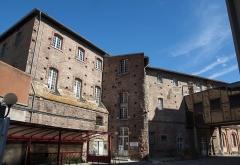 Hospice de la Grave - La Tour Taillefer vue depuis l'escoussière à l'Hôpital de La Grave, Toulouse - JEP 2013