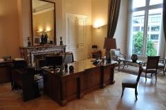 Ancien palais archiépiscopal - Français:   Préfecture Toulouse JEP 2013 - Bureau du préfet