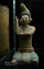Ancien couvent des Jacobins -  Statuette maya.Musée d'Auch.
