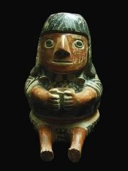 Ancien couvent des Jacobins -  Céramique Recuay (50-600 + JC). Il s'agit d'une des cultures pré-Inca, située au Pérou.Musée d'Auch.