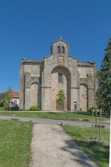 Eglise Saint-Saturnin - English: Saint Saturnin Church of Le Bourg, Lot, France
