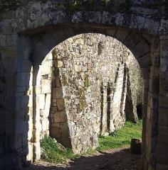 Fortifications -  Porte double au sud de Capdenac-le-Haut
