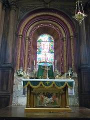Eglise Saint-Sauveur et crypte Saint-Amadour - Français:   Autel du chœur de la basilique Saint-Sauveur située dans le sanctuaire de Rocamadour (Lot, France)