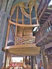 Eglise Saint-Sauveur et crypte Saint-Amadour -  Orgue de la basilique Saint-Sauveur