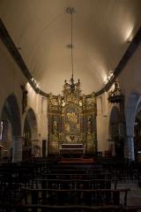 Eglise Notre-Dame - Français:   Nef et abside de l\'église Notre-Dame.
