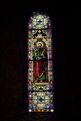 Eglise Notre-Dame - Français:   Saint Paul, Vitrail de J. Chasselay