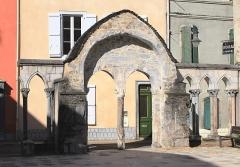 Ancienne église Saint-Jean - Français:   Église Saint-Jean de Bagnères-de-Bigorre (Hautes-Pyrénées)