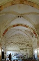 Eglise de Mazères - Français:   Castelnau-Rivière-Basse - Mazères - Église Saint-Jean-Baptiste - Intérieur vu depuis le chevet