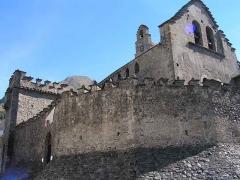 Eglise des Templiers -  Eglise fortifiée de Luz St Sauveur