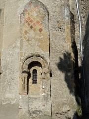 Eglise de l'Assomption - Français:   Maubourguet - Église de l\'Assomption - Détail du chevet: fenêtre d\'une absidiole