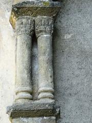 Eglise de l'Assomption - Français:   Maubourguet - Église de l\'Assomption - Colonnes doubles et chapiteaux de l\'abside