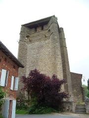 Eglise Saint-Etienne - English: Church of Belcastel, Tarn, France