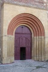 Eglise Saint-Michel - English:   Abbaye Saint-Michel de Gaillac. Gaillac. Occitanie, Tarn. France. Former abbey (Abbaye Saint-Michel de Gaillac). The church. Exterior. The entrance portal. Ref: PM_117790_F_Gaillac. Photo: Paul M.R. Maeyaert. pmrmaeyaert@gmail.com. www.polmayer.com. © Paul M.R. Maeyaert; pmrmaeyaert@gmail.com