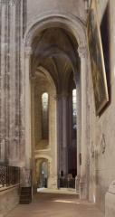 Eglise Saint-Michel - English:   Abbaye Saint-Michel de Gaillac. Gaillac. Occitanie, Tarn. France. Former abbey (Abbaye Saint-Michel de Gaillac). The church. Interior. The south ambulatory. Ref: PM_117800_F_Gaillac. Photo: Paul M.R. Maeyaert. pmrmaeyaert@gmail.com. www.polmayer.com. © Paul M.R. Maeyaert; pmrmaeyaert@gmail.com