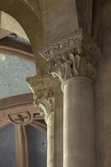 Eglise Saint-Michel - English:   Abbaye Saint-Michel de Gaillac. Gaillac. Occitanie, Tarn. France. Former abbey (Abbaye Saint-Michel de Gaillac). The church. Interior. The south ambulatory. Capitals. Ref: PM_117809_F_Gaillac. Photo: Paul M.R. Maeyaert. pmrmaeyaert@gmail.com. www.polmayer.com. © Paul M.R. Maeyaert; pmrmaeyaert@gmail.com
