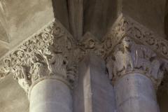Eglise Saint-Michel - English:   Abbaye Saint-Michel de Gaillac. Gaillac. Occitanie, Tarn. France. Former abbey (Abbaye Saint-Michel de Gaillac). The church. Interior. The south ambulatory. Capitals. Ref: PM_117811_F_Gaillac. Photo: Paul M.R. Maeyaert. pmrmaeyaert@gmail.com. www.polmayer.com. © Paul M.R. Maeyaert; pmrmaeyaert@gmail.com