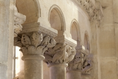 Eglise Saint-Michel - English:   Abbaye Saint-Michel de Gaillac. Gaillac. Occitanie, Tarn. France. Former abbey (Abbaye Saint-Michel de Gaillac). The church. Interior. The ambulatory. The choir enclosure. Detail. Capitals. Ref: PM_117830_F_Gaillac. Photo: Paul M.R. Maeyaert. pmrmaeyaert@gmail.com. www.polmayer.com. © Paul M.R. Maeyaert; pmrmaeyaert@gmail.com