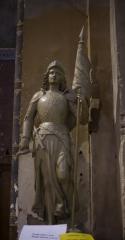 Eglise Saint-Pierre - English:   Église Saint-Pierre. Gaillac. Occitanie, Tarn. France. Church (Église Saint-Pierre). Interior. A statue of Joan of Arc.. Ref: PM_117781_F_Gaillac. Photo: Paul M.R. Maeyaert. pmrmaeyaert@gmail.com. www.polmayer.com. © Paul M.R. Maeyaert; pmrmaeyaert@gmail.com