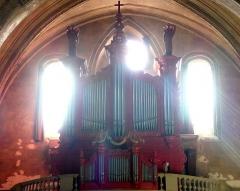 Eglise Saint-Pierre - Français:   Dans l\'église Saint-Pierre de Gaillac (Tarn, France), reconstruction, à partir d\'un orgue préexistant, de Thiébaut Maucourt d\'Albi en 1865.